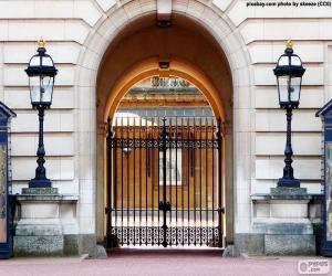 Układanka Wejście do Pałacu Buckingham