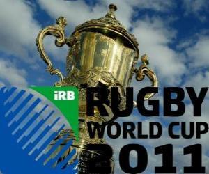 Układanka Wereldkampioenschap rugby 2011. Jest obchodzony w Nowej Zelandii od 09 września do 23 października