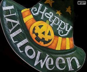Układanka Wesołego halloween
