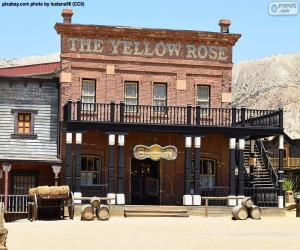 Układanka Western saloon