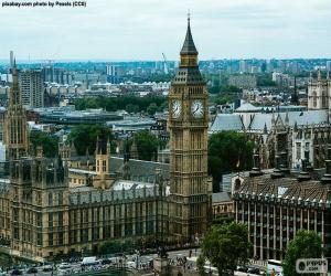 Układanka Westminsterskiego, Big Ben, Londyn