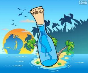 Układanka Wiadomość w butelce