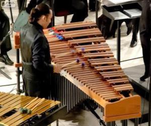 Układanka Wibrafon perkusyjny instrument muzyczny