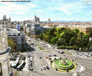 Układanka Widok na Madryt, Alcalá-Gran Vía