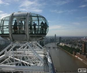 Układanka Widok z London Eye