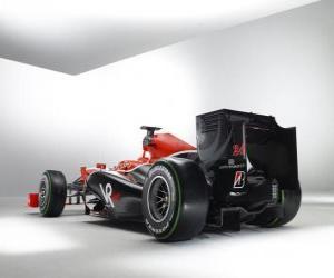 Układanka Widok z tyłu, Virgin VR-01