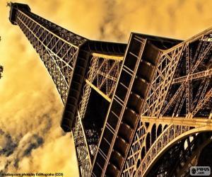 Układanka Wieża Eiffla Paryż