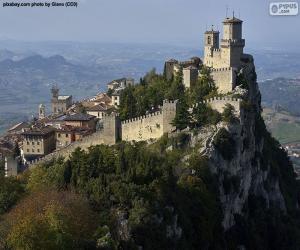 Układanka Wieża Guaita, San Marino
