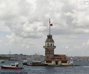 Układanka Wieża Leandra, Turcja