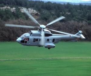 Układanka Wielka Cougar śmigłowca EC725