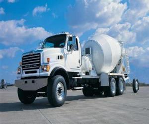 Układanka Wielki betonomieszarek