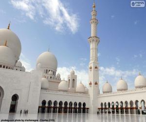 Układanka Wielki Meczet Szejka Zajida, Abu Dhabi