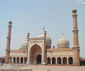 Układanka Wielki Meczet w Delhi, Indie