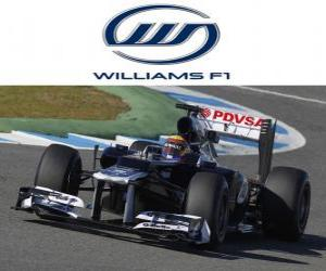 Układanka Williams FW34 - 2012 -