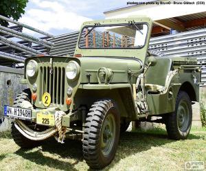 Układanka Willys MB
