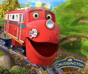 Układanka Wilson, protagonista lokomotywa z Stacyjkowo Chuggington