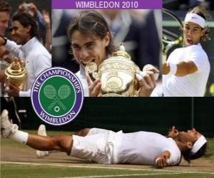 Układanka Wimbledon 2010 Rafael Nadal Champion