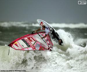 Układanka Windsurfing wave