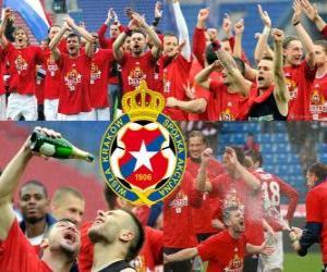 Układanka Wisła Kraków, mistrz polski w piłce nożnej Ekstraklasy 2010-2011