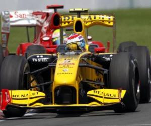 Układanka Witalij Pietrow - Renault - Montreal 2010