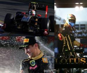 Układanka Witalij Pietrow - Renault - Melbourne, Australia Grand Prix (2011) (3 miejsce)