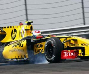 Układanka Witalij Pietrow - Renault - Stambuł 2010