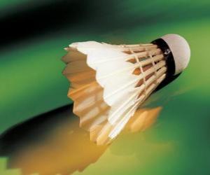 Układanka Wolant do gry w badmintona