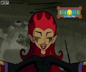 Układanka Wuha, czarownica