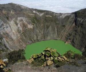Układanka Wulkan Irazu, Chile