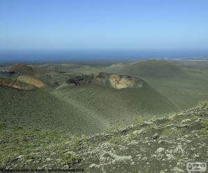 Układanka Wulkaniczny krajobraz, Lanzarote