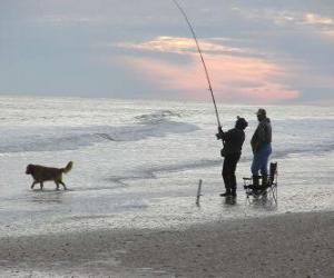 Układanka Wybrzeże rybak