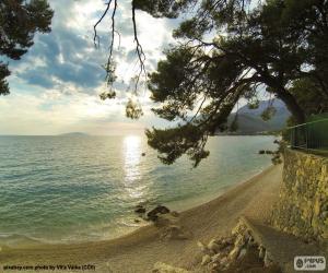 Układanka Wybrzeże Morza Śródziemnego