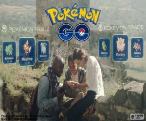 Układanka Wymiany Pokémon GO