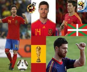 Układanka Xabi Alonso (Płuco) Hiszpański pomocnik National Team