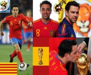 Układanka Xavi Hernandez (baton) Hiszpański pomocnik reprezentacji narodowej