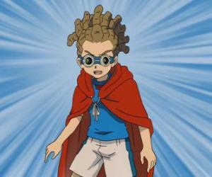 Układanka Yuuto Kido lub Jude Sharp odgrywa pomoc i jest pod-kapitan drużyny Raimon w
