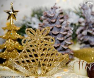 Układanka Złote kampanii Boże Narodzenie