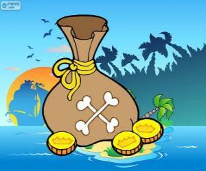 Układanka Złote monety
