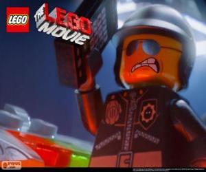 Układanka Zły Glina, zły policjant, policjant filmu Lego