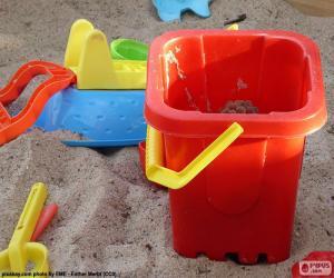 Układanka Zabawki do piasku