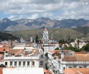 Układanka Zabytkowego miasta Sucre, Boliwia