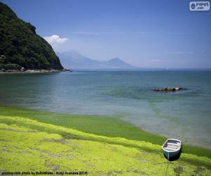Układanka Zachodnie wybrzeże Kiusiu, Japonia