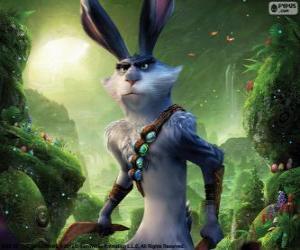 Układanka Zając Wielkanocny. Postać z Strażnicy Marzeń