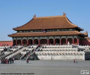 Układanka Zakazane Miasto, Chiny