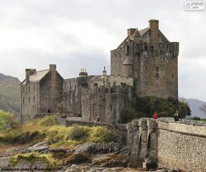 Układanka Zamek Eilean Donan, Szkocja