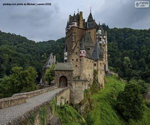 Układanka Zamek Eltz, Niemcy