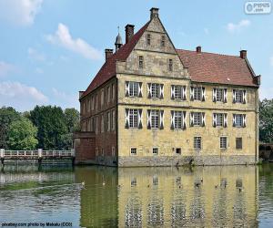 Układanka Zamek Hülshoff, Niemcy