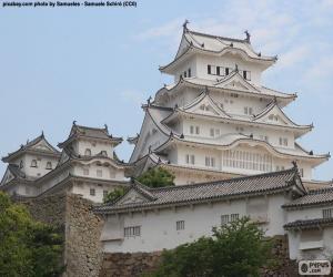Układanka Zamek Himeji, Japonia