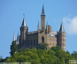 Układanka Zamek Hohenzollern, Niemcy