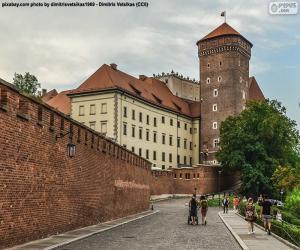 Układanka Zamek Królewski na Wawelu, Polska